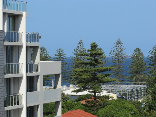 Adina Apartment Hotel Wollongong: View from Balcony