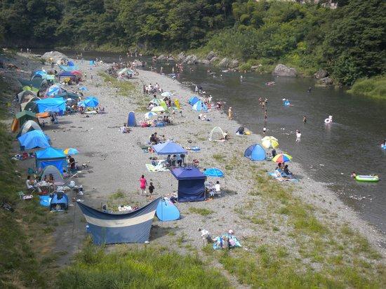 Kanpo no yado Ome: 夏の宿下多摩川