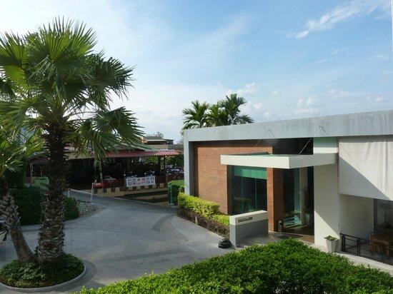 Sugar Palm Grand Hillside: Hotel reception