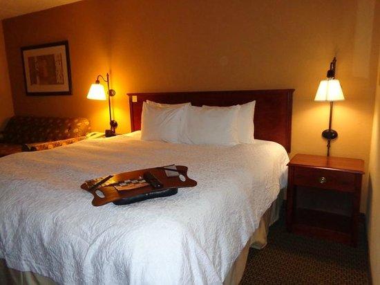 Hampton Inn Lagrange near Callaway Gardens: bed