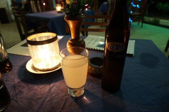 Blow Hole Restaurant: Ginger beer