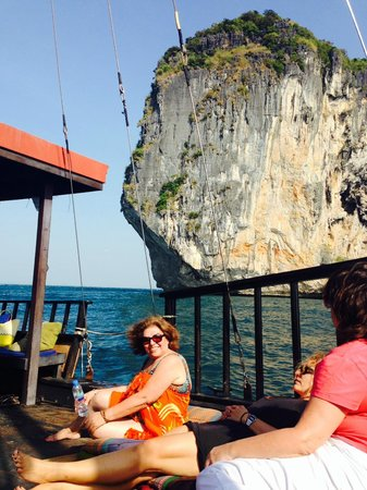 Krabi Sunset Cruises : A Very Happy Mother