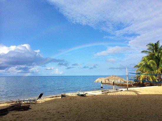 Sueno Del Mar Resort: A double rainbow at Sueno Del mar