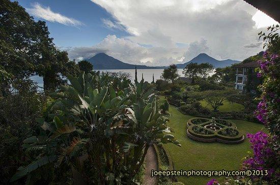 Hotel Atitlan: spectacular view
