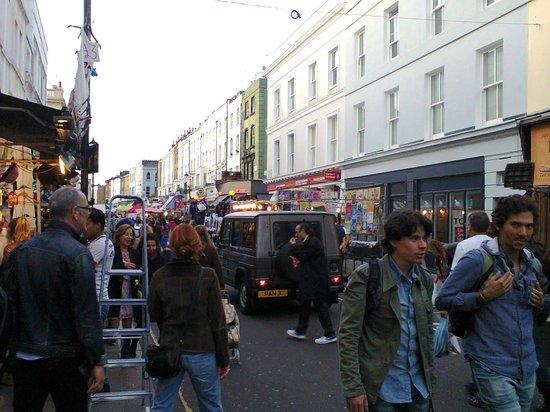 Notting Hill: Mercado de Portobello