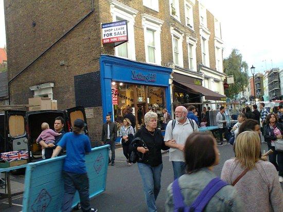 Notting Hill: Estuve esperando a Anna Scott y no salio :(