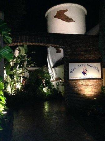 94th Aero Squadron: Entrance to the restaurant