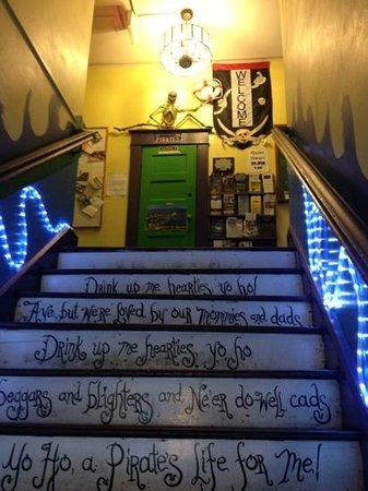 The Pirate Haus Inn: Ahoy!