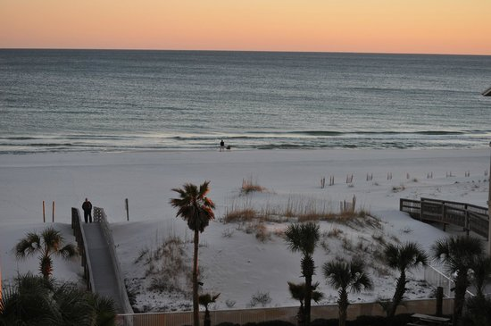 Hilton Garden Inn Orange Beach : View out our window (pool view)
