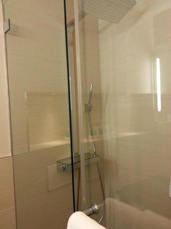 Hotel St. Gotthard: wonderful Grohe shower