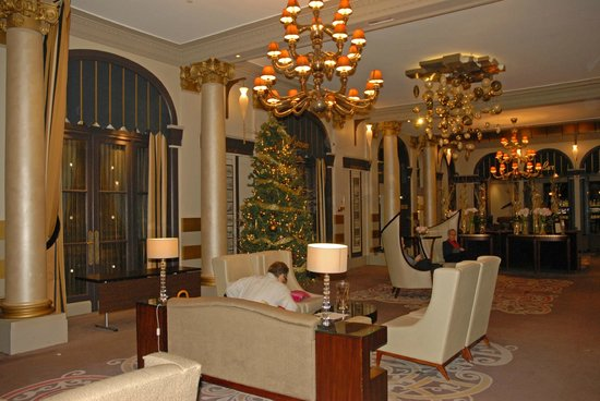 Paris Marriott Opera Ambassador Hotel: Lounge and The Lindberg Bar
