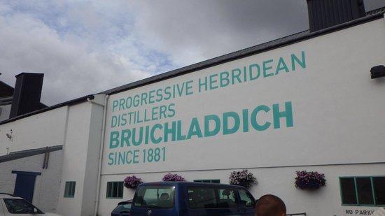 Bruichladdich Distillery: Love it.