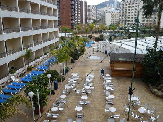 Presidente Hotel: Hotel pool courtyard