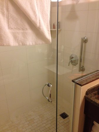 Marriott Marquis San Diego Marina: shower