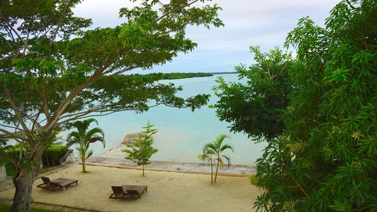 Rhodes Beach Resort Negril: Balcony view from Sunshine (Palm)