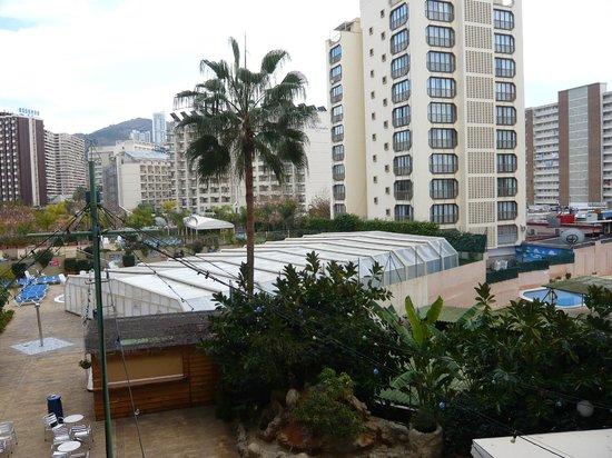 Presidente Hotel: Covered pool in winter