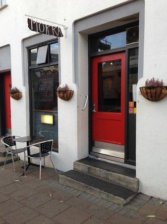 Mokka Kaffi: The front door
