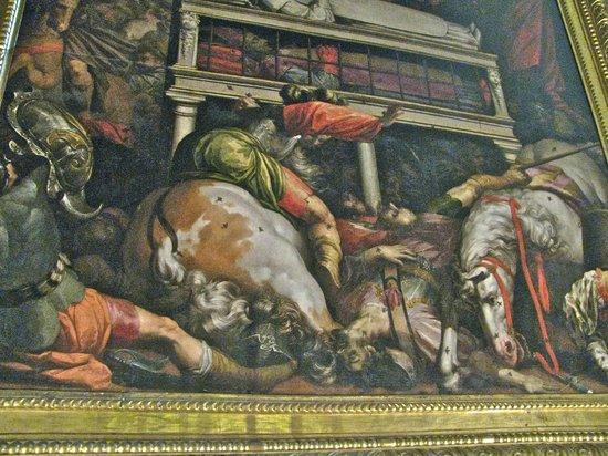 Església de Sant Feliu: Painting in the church