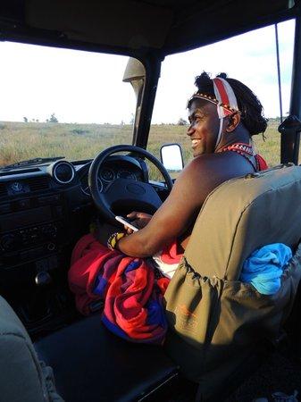Sirikoi: Our Masai guide - Legai