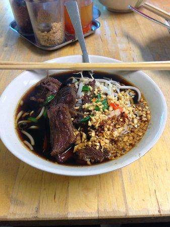 Noodle Station: The beef noodle soup
