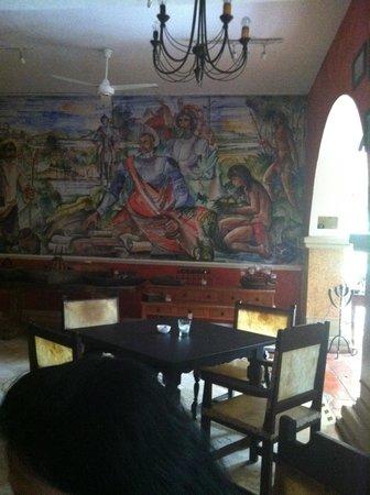 Hotel Mariscal Robledo: Dinning area.