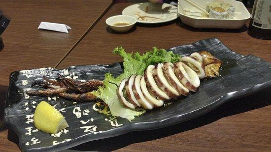 Tokyo Sushi : Squid