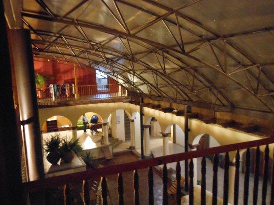 Puerta Vieja Hostel: Vista desde el segundo piso