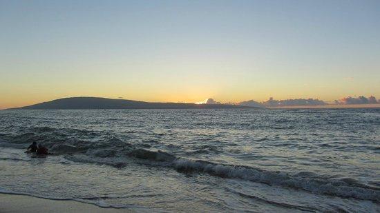 Sands of Kahana : View from Sands beach