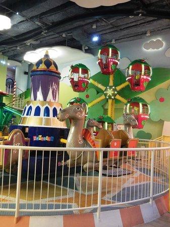 Grand Indonesia Mall: Children Rides on Carniville