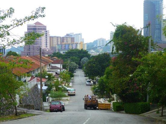Sekeping Tenggiri : The quiet street