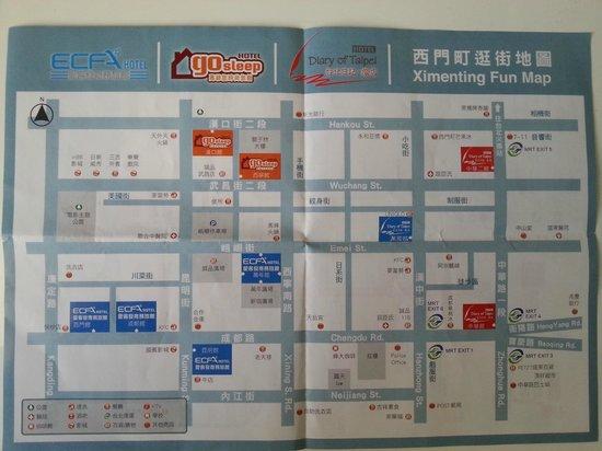 Go Sleep Hotel - Hankou : 地図