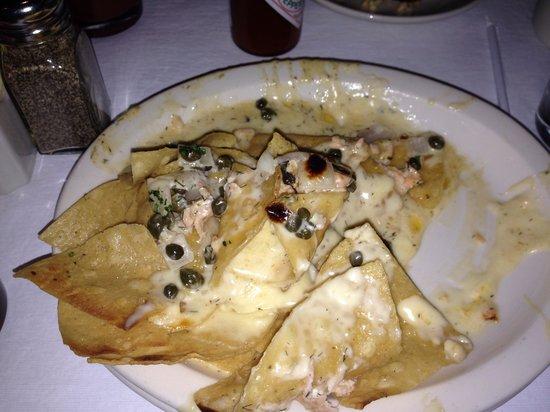 California Dreaming Restaurant & Bar: Nachos de mariscos, delicioso