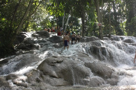 Dunn's River Falls and Park : Just beautiful.