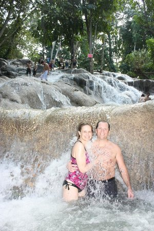 Dunn's River Falls and Park : Thanks for taking the pic's Euan!