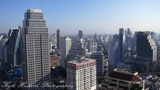 Column Bangkok : From our balcony on the 33rd floor