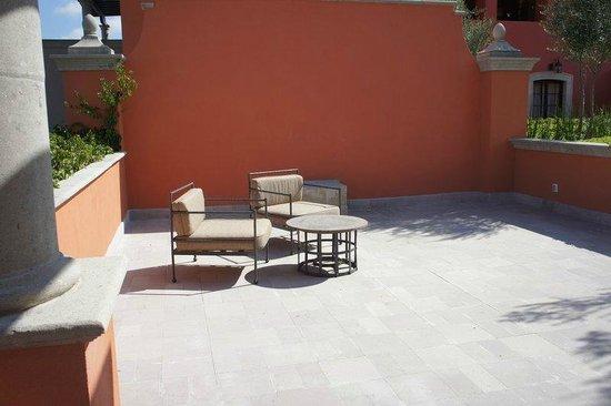 Rosewood San Miguel de Allende: Terraza de la habitación