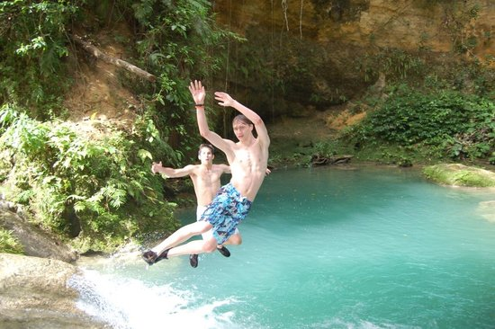 Liberty Tours Jamaica - Day Tours: Jumping into paradise Mon!!