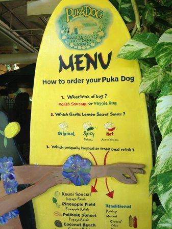 Puka Dog : Cute walk up eatery