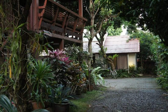 Baan SongJum Wat Ket: Main house and garden