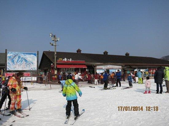 Elysee Motel: Muju Deogyusan Ski Resort 1