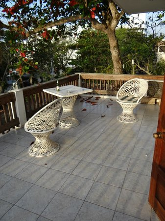 NEPTUNO'S REFUGIO: Balcony