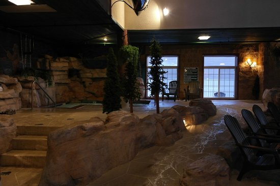 Stoney Creek Hotel & Conference Center - Galena: Hot Tub area