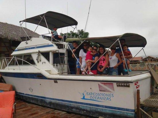Hotel Hostería Nantu: Con los amigos en Nantu