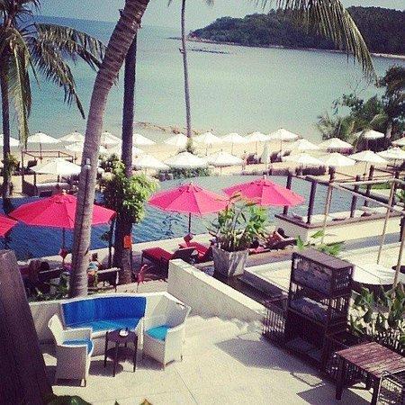 Anantara Lawana Koh Samui Resort : the common pool