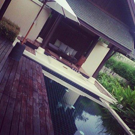 Anantara Lawana Koh Samui Resort : Pool in the room