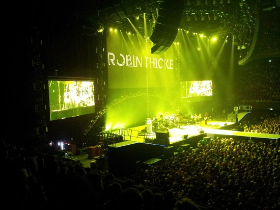 Ziggo Dome : Robert Thicke