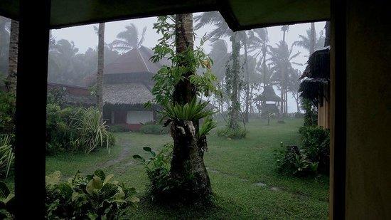 Sagana Resort: rain rain endless rain