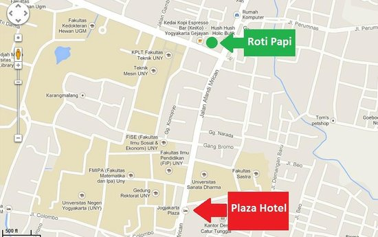You won\'t find us on google maps. Use this map! - Picture of Roti ...