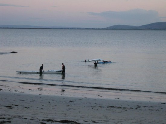 Galway Bay Hotel: Salthill sunset, Galway Bay