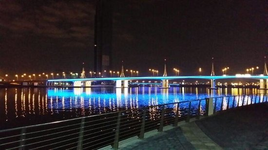 Crowne Plaza Dubai Festival City: Just outside the hotel